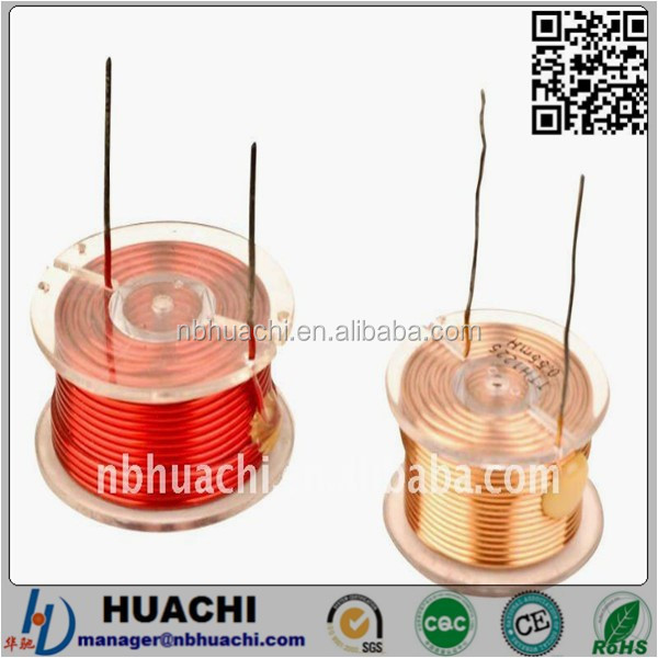 Alibaba Gold Supplier customizable TTH1225 type audio Inductor coil manufacturer