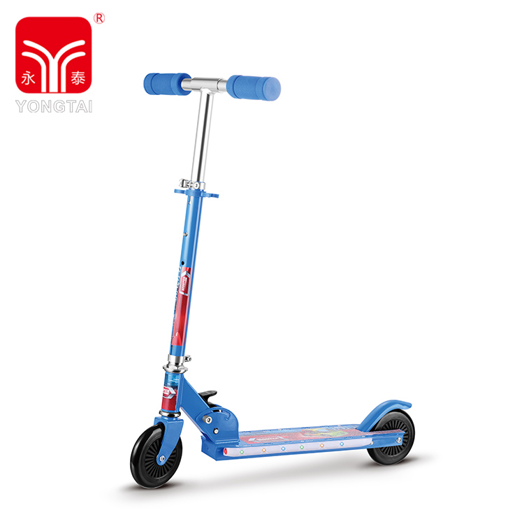 High Quality Outdoor Sports Folding 2 PVC Wheel Scooter, Kick Scooter For Kids