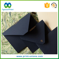 High quality special design paper printing customized recyclable packaging envelopes