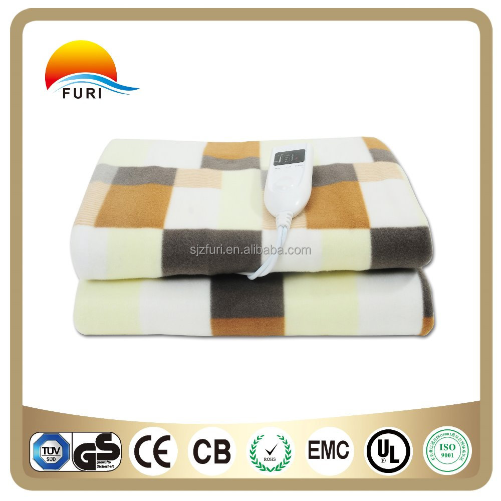 Electric Blanket Heating Under Blanket