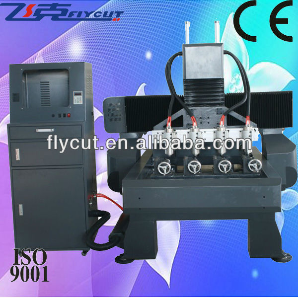 FCT-7090C&W-4S cnc 3d carving advertising router machine