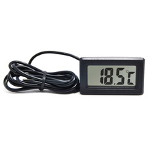 RINGDER PT-2 LCD Digital Panel Small Fridge Thermometer Temperature Meter Indicator with Probe Price