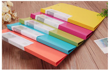 all types office supply stationery a4 plastic clip file folder