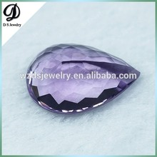 Big size Wholesale Best Price pear Cut Natural Africa Amethyst Gem Stone