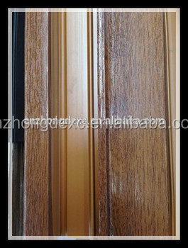LG wooden laminated best seller upvc profile for window and doorextrusion profiles for windows and doors