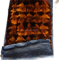 2016 Dyed Colorful Tanned Raccoon Dog Fur Skin with Factory Price