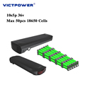 Lithium battery 48v 13.6ah 13s4p 652.8wh victpower