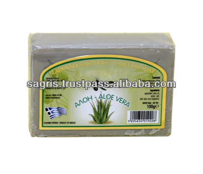 100% Olive Oil Soap with Aloe Vera
