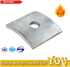 HDG Hot Dip Galvanized Curved Flat