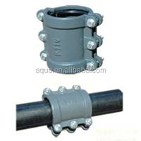 cast saddle split repair clamp pipe leak repair clamp