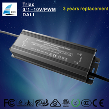 5 years warranty IP67 waterproof electronic led converter 45w DC 12V 24V 36V led transformer mr16 driver