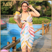 new arrival hot selling chiffon sarong 2014 junior swimwear