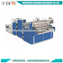 High Speed Handkerchief Paper Edging Sewing Machine and Log Saw Cutting Paper Machine