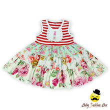 Sleeveless Ruffles Cotton Simple Dresses For Children Kids Girl Wholesale Baby Cotton Frock Design