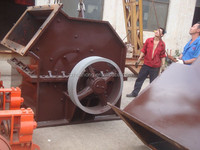 HUAHONG used scrap metal shredder/small mobile scrap metal crusher/tin can crushing shredding cutting machine for sale