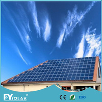 high efficiency 3kw grid tied solar energy system for home use