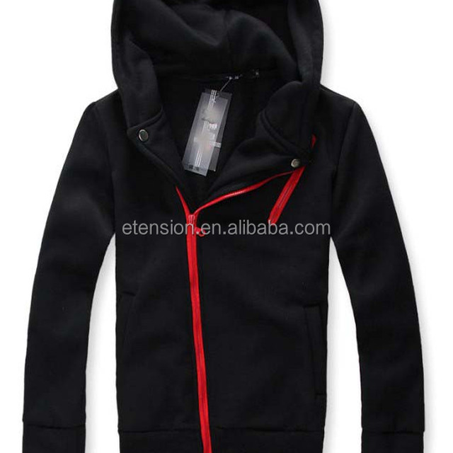 Stylish Zipper Casual Cheap Men Hoodie Jacket For Sale