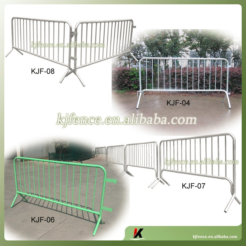 Big event crowd control metal barrier