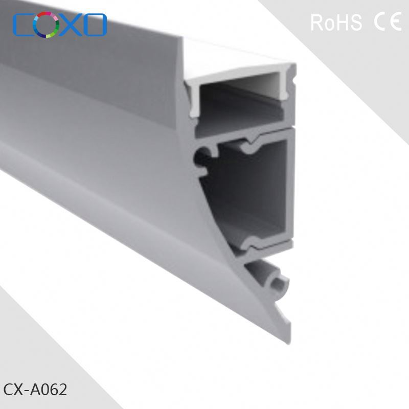 New Hot LED Aluminum Ceiling Wall LED Profile Extrusion for LED Lighting Fixtures