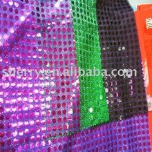 fashioable sequin and beaded fabric metallic decorative mesh for toy accessorize