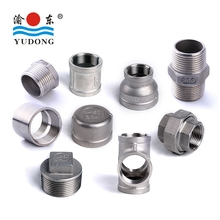 Stainless steel threaded/screwed pipe fitting