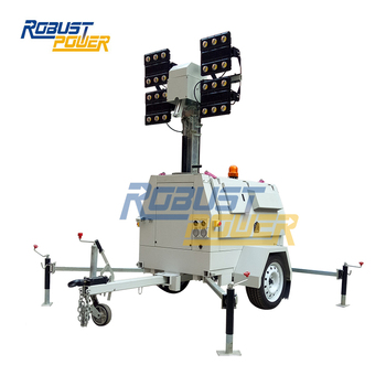 Euro Trailer EPA TIER 3 6*720W LED Mobile Light Towers