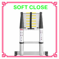 soft close telescopic step ladder