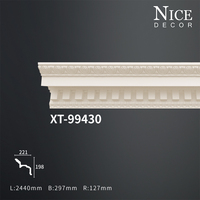 Cheap polyurethane cornice molding with large scale