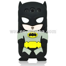 3D Cartoon Silicone Case Cover for Samsung Galaxy SIII S3