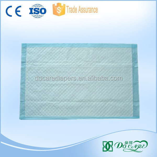 2017 hot sales hospital adult underpad /disposable nursing bed pad /medical underpad