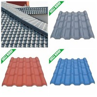 Asa Resin PVC Roofing Material for Bungalow