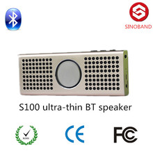 Mini Portable Bluetooth Speaker, aluminium alloy speaker, Powerful Loud and Clear Sound with Bass, Reads Music From TF Cards