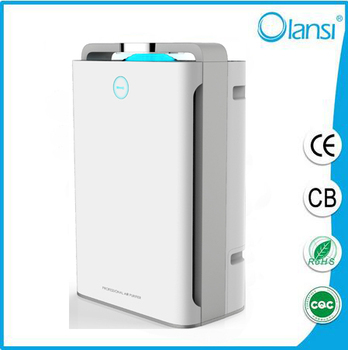 Home air purifier with humidification house hold use air cleaner for olansi make