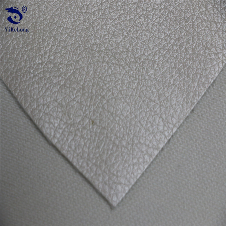 High quality pearlescent shoes material sofa bag PU artificial leather raw material