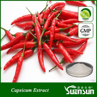 Organic pure natural capsicum extract capsaicin powder pure capsaicin