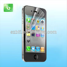 High Quality Japan Material Anti-Scratch High Clear Screen Film Guard for iphone 5 Screen Protector Manufacturer