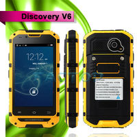 2014 Hot!Original Discovery V6 MTK6572 Dual Core Phone Android 4.2 Dual SIM Card Dustproof mobile phone