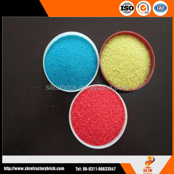 color sand for Lacquer,fine color sand