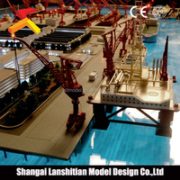 new product plastic miniature scale model, miniature architectural scale models of famous building