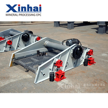 Linear Vibrating Screen For Ore Mining , Gold Mining Vibrating Screen Price