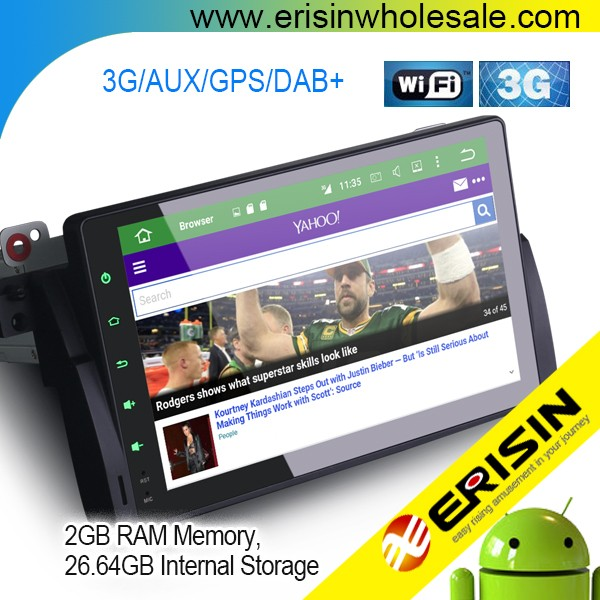 Erisin ES6906B 9 inch 8-Core DAB+ Car Radio GPS 3G WiFi for E46