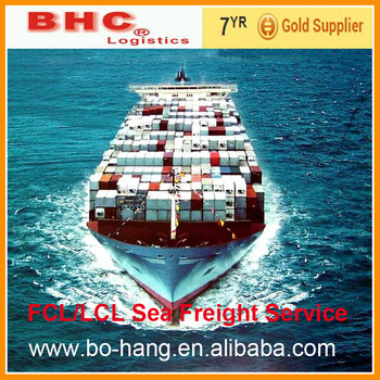 DDU/DDP sea shipping services from Shenzhen to VALENCIA Spain