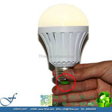 LED emergency e27 bulb 9w led emergency charging light portable emergency light e27 dimmable, MTCR-EE01