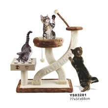 Various Designs Natural Cat Tree Scratcher Toy