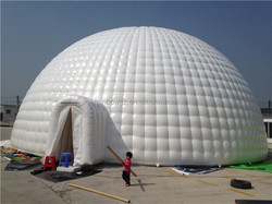 Giant Inflatable Dome Tent, Large Inflatable Camping Tent, Party Inflatable Bubble Tent
