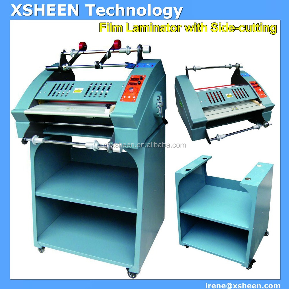 pvc id card paper lamination machines for a4 size