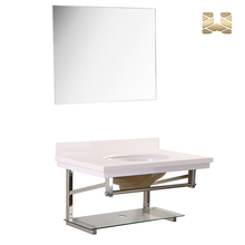 Made in China superior quality waterproof vanity cabinet