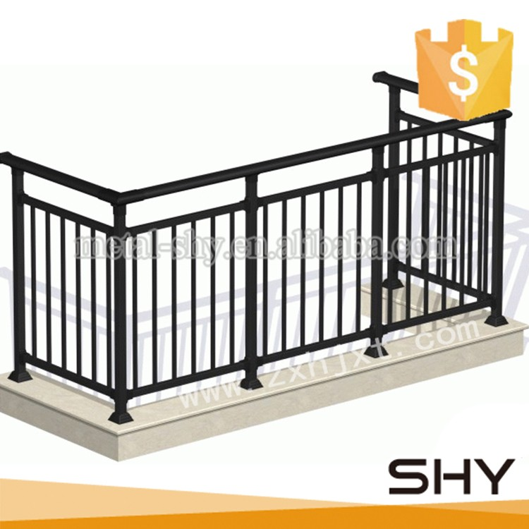 Balcony stair deck use decoration wrought iron railings