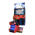 Coin operated arcade game machine racing motorcycle motorbike simulator