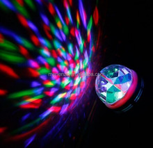 Excellent New RGB led disco bulb with sound control and normal one for holiday disco bulb